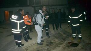 Fabrikadan yayılan gazdan etkilenen 11 kişi hastaneye kaldırıldı
