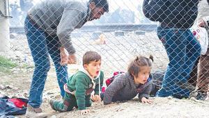 İstanbul'da göçmen dalaşı