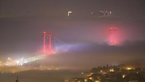 Son dakika: İstanbulda sis Şehir Hatlarının tüm seferleri iptal