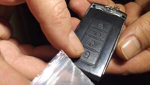 Otomobil anahtarı görünümlü hassas terazi