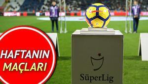 Bu hafta hangi maçlar var Süper Lig 23. hafta maçları