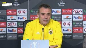 Ersun Yanal, Zenit maçı öncesi açıklamalarda bulundu