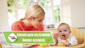 Çocukların gelişiminde önemli rollere sahip besinler nelerdir