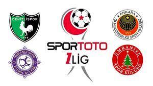 Spor Toto 1. Ligde zirve mücadelesi İlk 4 birbiriyle oynuyor...