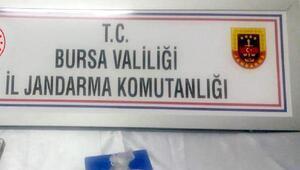 Bursada uyuşturucu ticaretine 1 gözaltı