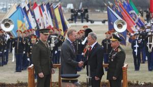 Bakan Akar ve Genelkurmay Başkanı Güler Pentagonda... Böyle karşılandılar