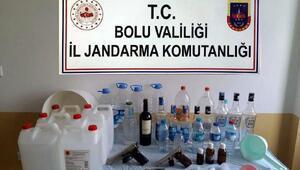Mengende 7 kaçak içki imalathanesine baskın: 7 gözaltı