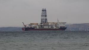 Türkiyenin ikinci sondaj gemisi Yalovaya ulaştı