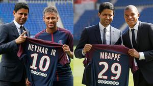 PSG Başkanı Nasser Al-Khelaifiden flaş Neymar ve Mbappe açıklaması