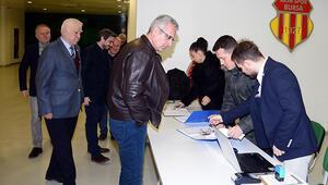 Bursasporda Mali Genel Kurul ertelendi