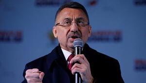 Cumhurbaşkanı Yardımcısı Fuat Oktay: Zillet ittifakı gücünü FETÖden ve Kandilden alıyor