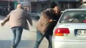 Bıçakla sürücüye saldırmıştı... O trafik magandası yakalandı