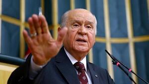 MHP lideri Devlet Bahçeli: MHP Şentop'u eksiksiz destekleyecek