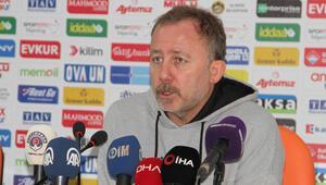Sergen Yalçın: Artık Alanyaspor iyi bir takım olmaya başladı