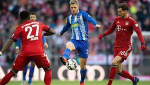 Bayern Münih, Hertha Berlini tek golle geçti