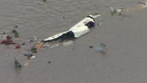 ABD'de kargo uçağı düştü