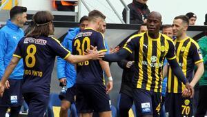 Ateş hattı alevlendi Ankaragücünden son dakika galibiyeti...