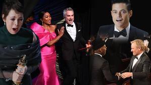Son Dakika: 2019 Oscar Ödülleri o film ve isimlere gitti...İşte, Oscar kazanan isimler