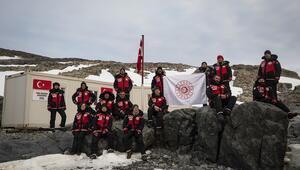 Antarktikada Türk Bilimsel Araştırma Kampı kuruldu