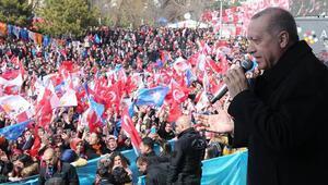 Son dakika: Cumhurbaşkanı Erdoğan: Devletin imkanlarını Kandile gönderirseniz kayyumlarımızı atarız