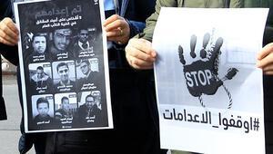 Arap ve dünya ülkelerinin Mısırdaki idamlara karşı sessizliğini kınıyoruz
