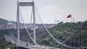 Köprü ve otoyol geliri 154 milyon lira