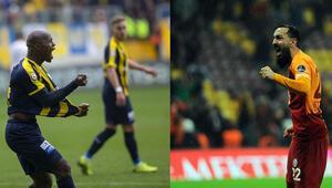 Süper Ligin 23. haftasına son dakika golleri damga vurdu