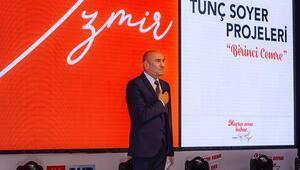 Tunç Soyer projelerini açıkladı