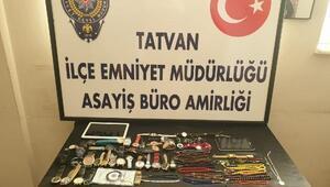 Bitliste, 10 evden hırsızlık yapan 4 şüpheli yakalandı