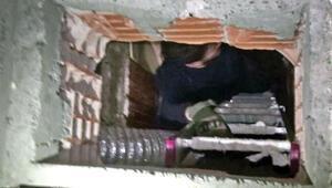 8 DHKP-C'li terörist sığınakta ele geçirildi