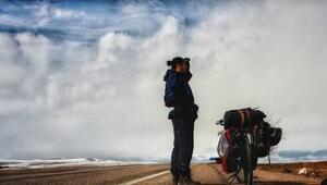 Türkiyeyi gezen en genç bisikletli olmak için yollara çıktı