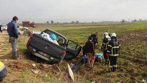 İmamoğlunda kaza: 1 ölü, 3 yaralı