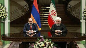 Ruhani ile Paşinyan ekonomik ilişkileri görüştü