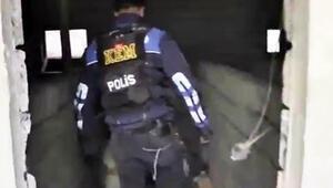 Polisi görünce 2. kattan atladı