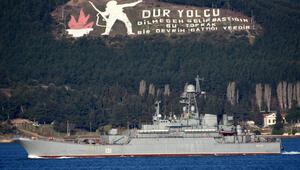 Rus savaş gemisi Azov Akdenize iniyor