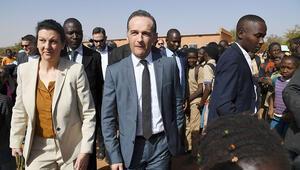 Heiko Maas, Mali'de mahsur kaldı