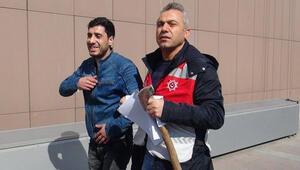 Bakırköy Adliyesine baltayla gelen kişi tutuklandı