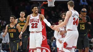 Chicago Bulls 4 uzatma sonunda kazandı Maçta 329 sayı çıktı...