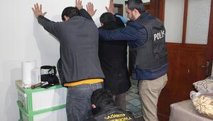 Gaziantep'te 15 adrese şok baskın