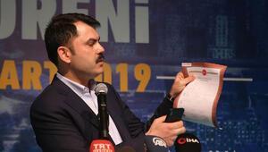 Bakan Kurum, QR kodlu tapuyu tanıttı