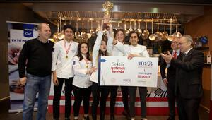 Liseli 'aşçılar' yarıştı