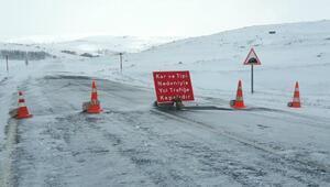 Ardahan-Şavşat karayolu, kar ve tipi nedeniyle ulaşıma kapatıldı