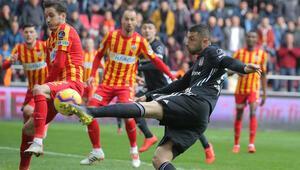 Beşiktaş, 1 puanı 90. dakikada Caner ile aldı