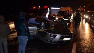 Orduda trafik kazası: 1 ölü, 2 yaralı