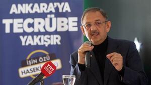 Mehmet Özhaseki: Üçüncü sefer aday olan arkadaşımız daha bir proje söylemedi