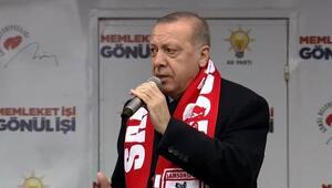 Son dakika Cumhurbaşkanı Erdoğandan Samsunda önemli açıklamalar
