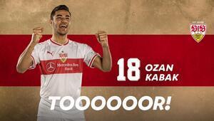 Ozan Kabakdan duble Bundesligada ilk...