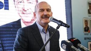 Süleyman Soylu, proje ve aday tanıtım toplantısında konuştu