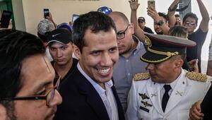 Guaido Venezuela'ya dönüyor