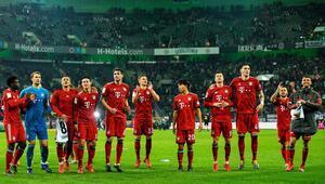 M'Gladbach 1-5 Bayern Münih (MAÇ ÖZET)